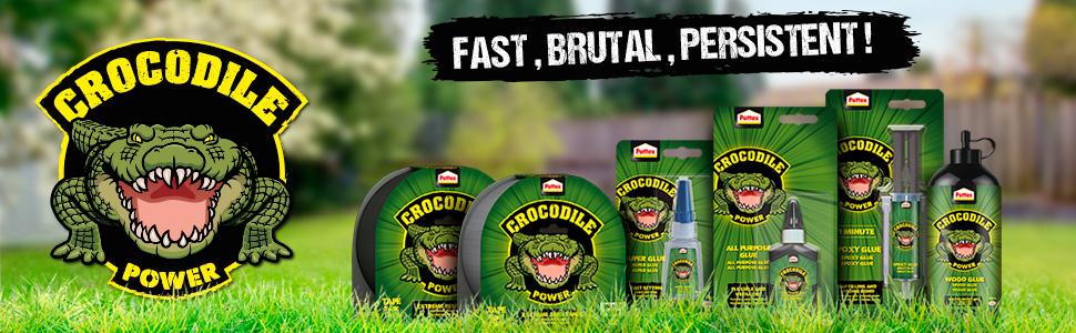 gamma nuova originale pattex crocodile coccodrillo forte resistente