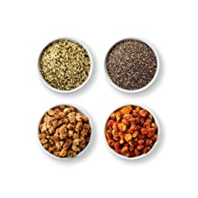 organic superfoods, jungle peanuts, maca powder, cacao powder, trial mix, goji berries