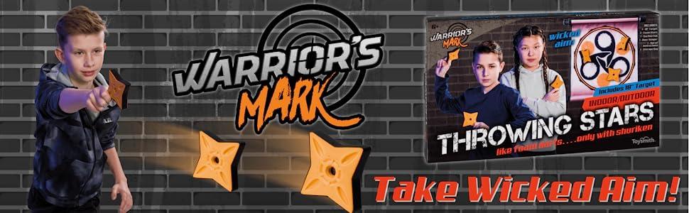 Warriors Mark Throwing Stars Game