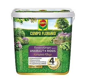 Compo Floranid Rasendunger Gegen Unkraut Moos Komplett Pflege 3