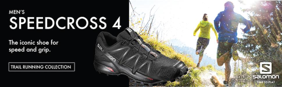 55a9b5fd491bb Salomon Men's SPEEDCROSS 4 WIDE Athletic Shoe