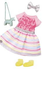 glitter girls battat clothes outfits accessories 14-inch dolls wellie wishers 6-year-old toy horse