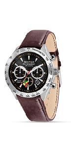 fae1408bd7f SECTOR NO LIMITS Herren Chronograph Solar Uhr mit Edelstahl Armband ...