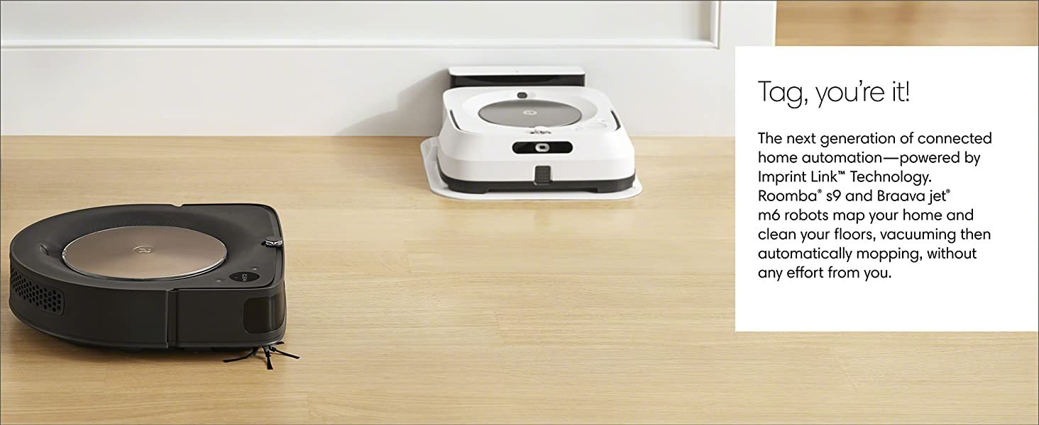 iRobot Roomba S9 (9150) Robot Vacuum- Wi-Fi Connected, Smart Mapping,  Powerful Suction, Works with Alexa, Ideal for Pet Hair, Carpets, Hard  Floors,