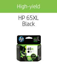 Generic HP 65 ink cartridges xl black