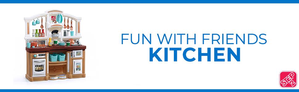 Fun with friends kitchen