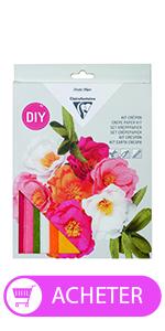Kit créatif bouquet de fleurs