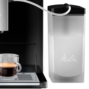 Melitta Caffeo Ci E970-103, Cafetera Molinillo, Café Molido y en Grano, Personalizable, Depósito de Leche, Limpieza Automática, 15 Bares, Plata, 1400 W, 1.8 litros, Plástico, Negro: Amazon.es: Hogar
