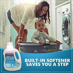LAVENDER NATURAL DETERGENT SOAP CLOTHES SOFT SAFE POWERFUL REMOVES DIRT