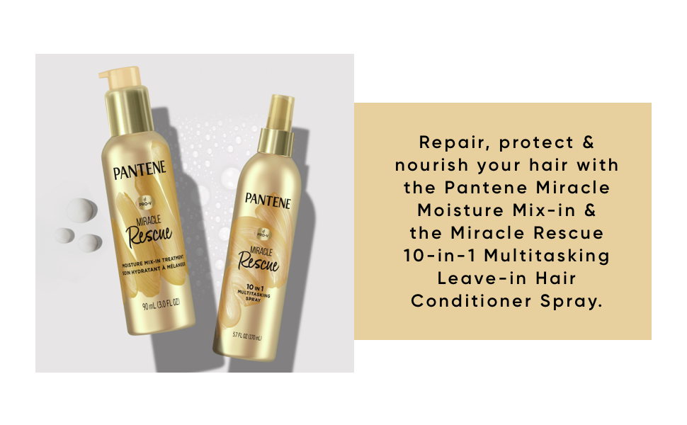 pantene leave in conditioner spray deep conditioner boost mix into hair conditioning treatment