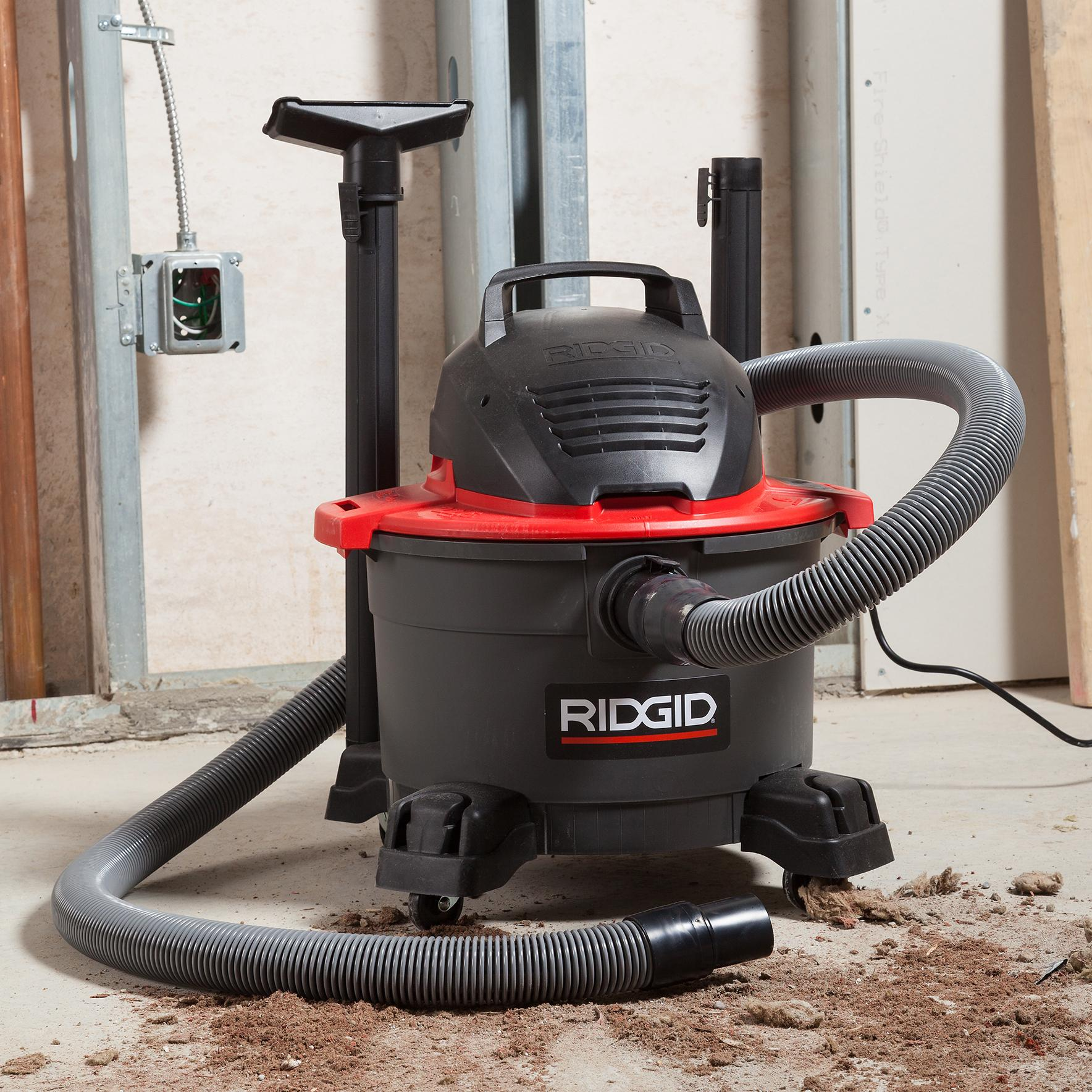 Ridgid Shop Vac Casters >> Amazon.com: RIDGID 50308 6000RV Portable Wet Dry Vacuum, 6 ...