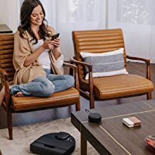 get cleaning in minutes, app-enabled, quick, fast, vacuum, robot vacuum, automatic, very clean