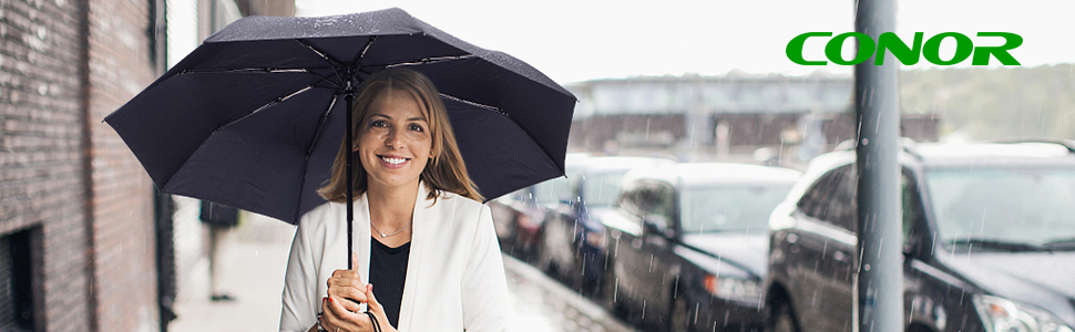 Travel windproof umbrella