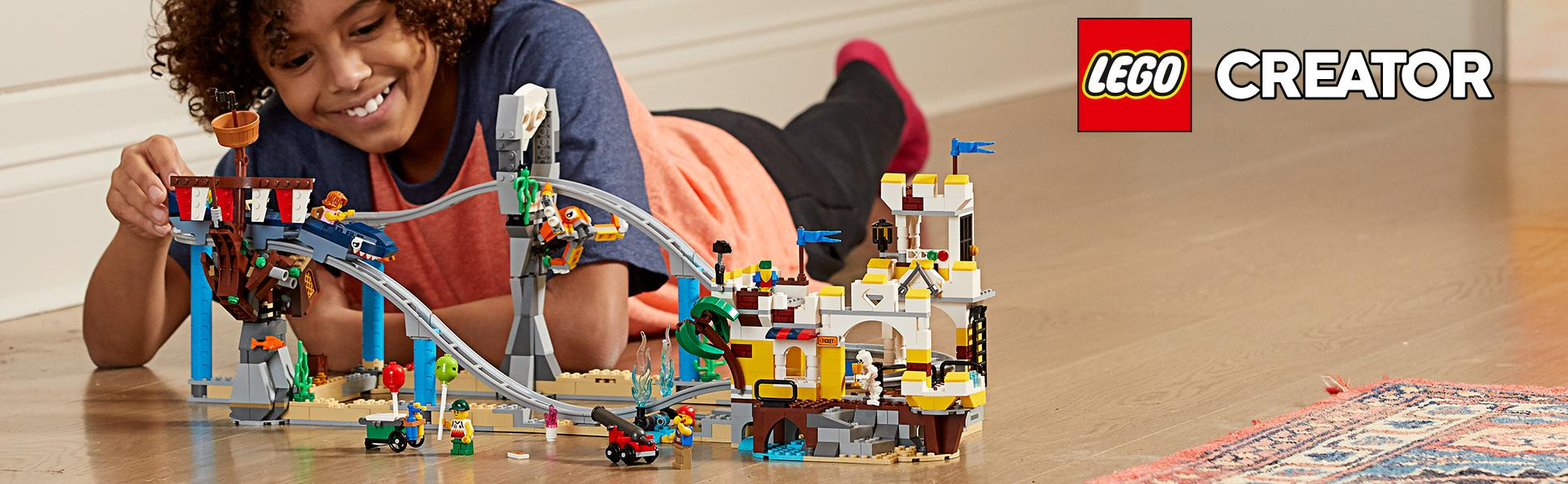 LEGO Creator Pirate Roller Coaster Set 31084- Brand New Sealed Box ...