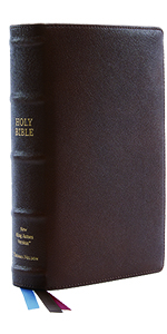 Brown Single Column Reference Bible New King James Reference