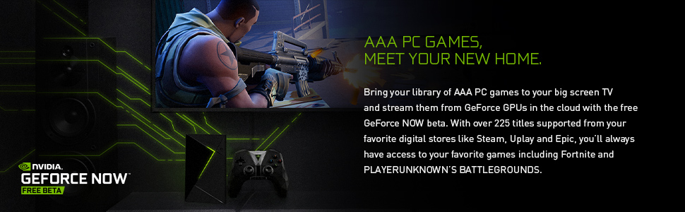 AAA PC Games meet your new home - GeForce Now