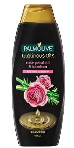 Palmolive Luminous Oils Rose Oil & Bamboo Shampoo