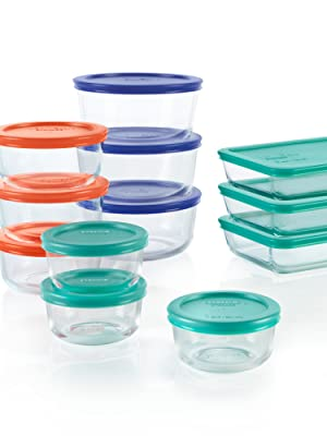 Pyrex 24-Piece Storage