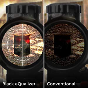 Black eQualizer increases the visibility in dark scenes without overexposing the bright areas