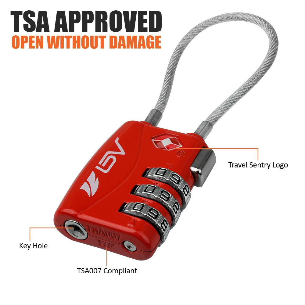 how to set tsa lock