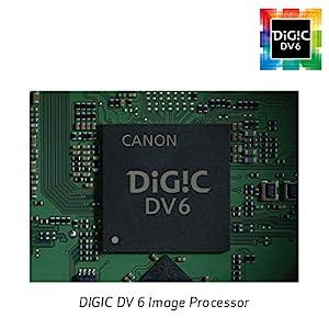 Procesador de imagen DIGIC DV 6