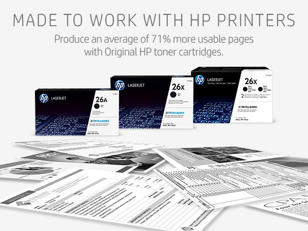 26X 26A hp toner cartridge cartridges Hewlett Packard premium black combo pack cheap