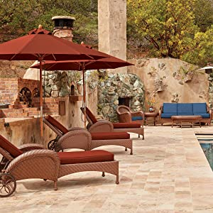 Patio Umbrella, Montlake FadeSafe, Classic Accessories, Umbrella With Warranty, Water-Resistant