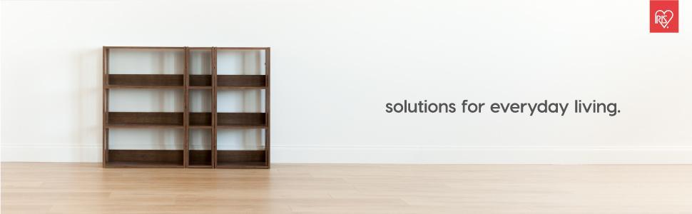 Brown Corner Shelf, Kitchen Shelf, Wood Shelf Unit, 3 Shelf, Shelf Shelving