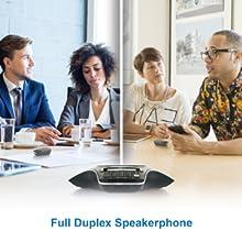 full duplex speakerphone