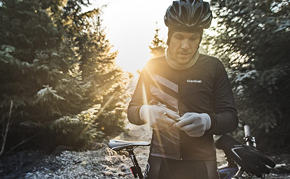 Gripgrab Merino Wool Thermal Full Finger Liner Gloves Touchscreen Compatible Knitted Inner Under Cycling Everyday Life Amazon Co Uk Sports Outdoors