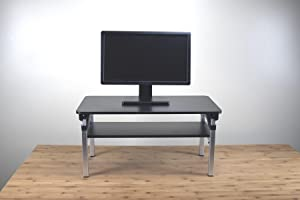 key features of lift adjustable height computer monitor riser