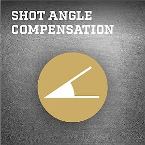 Shot angle compensation