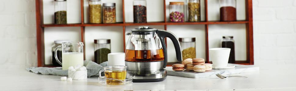 Amazon.com: Breville BTM500 Smart Tea Infusor compacto ...