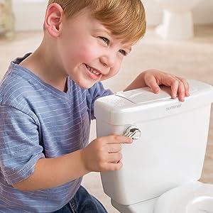 Interactive Toilet Handle
