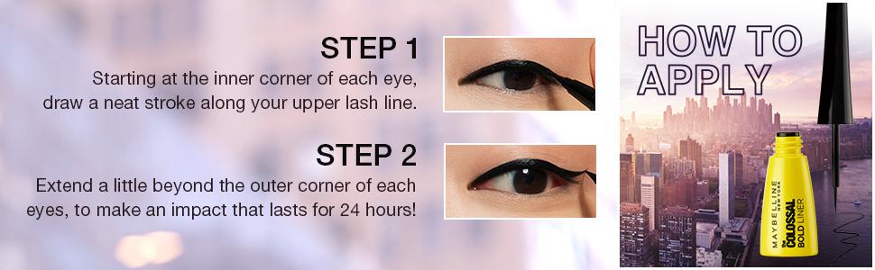 bold liner, eyeliner