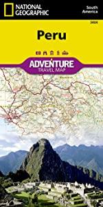 Peru Adventure Map
