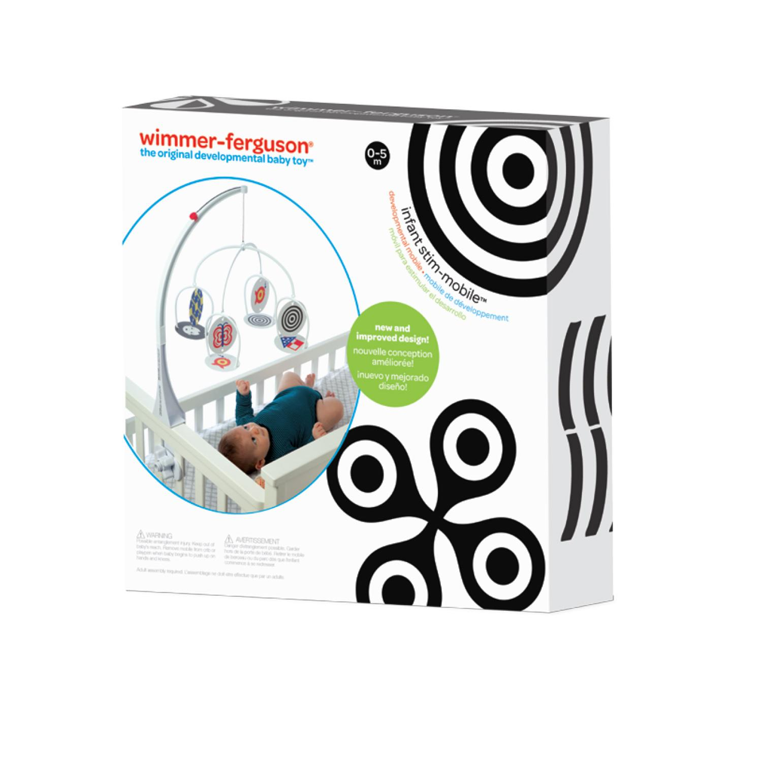 Manhattan toy wimmer ferguson infant stim for Baby shapes mobile