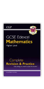 Grade 9-1 GCSE Edexcel Maths Complete Revision & Practice book from CGP