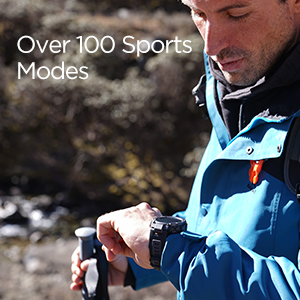 Over 100 Sports Modes
