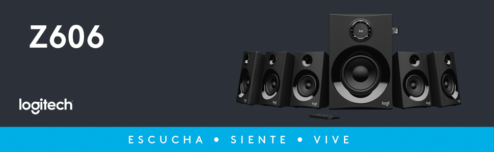 Z606, Bocina Bluetooth, Bocina Logitech, Logitech, Teatro en Casa