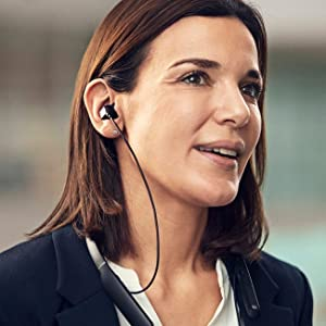 EPOS SENNHEISER Wireless Bluetooth ANC In-Ear Neckband Headset Teams Certified
