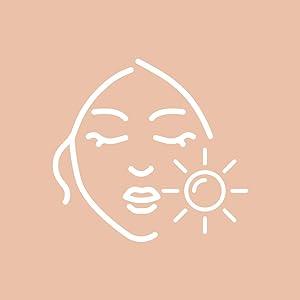 Gezichtsreinigingsborstel tegen rimpels, massageapparaat, gezicht, contourstift