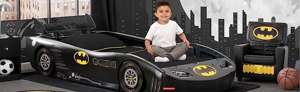 amazon com dc comics batman batmobile car twin bed baby