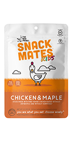 Snack Mates, Chicken and Maple, Paleo, Snacks for Kids