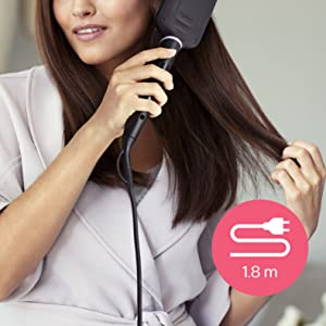 1.8m cord for maximum flexibility