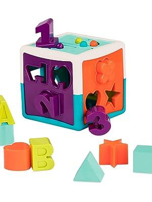 Battat Learning//Educational Shape Sorter Toys For 1 2 3 4 Year Old Baby//Kids