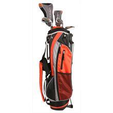 Amazon.com : Intech Lancer Junior Golf Club Set (LH Orange Ages 8-12) : Golf Club Complete Sets