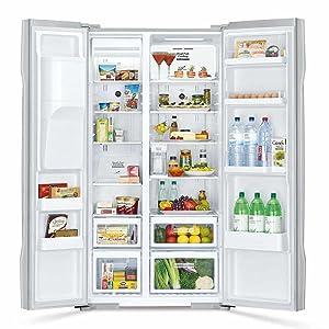 Super Big Capacity Side By Side,Hitachi refrigerator,fridge,Best refridgerator