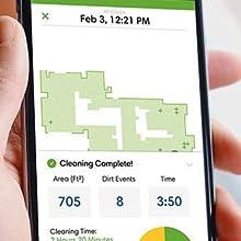 Enhanced iRobot HOME App