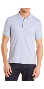 Amazon Essentials Men's Regular-Fit Cotton Pique Shirt; nike golf polos for men; mens polo shirts